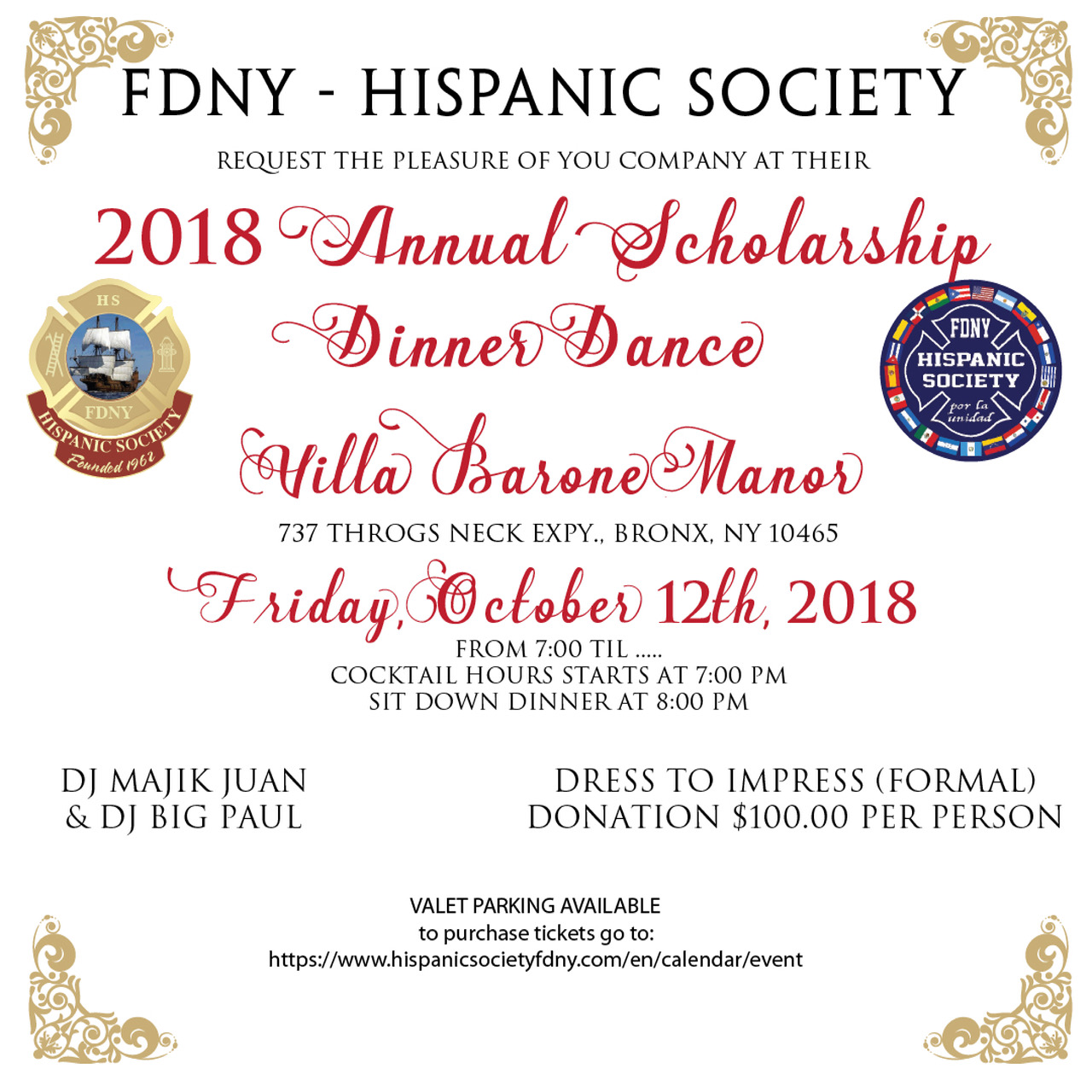 FDNK Hispanic Dance 2018 invitation IG
