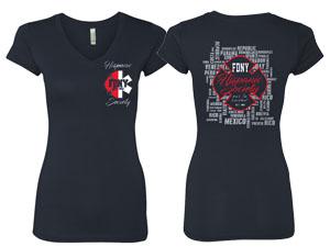 Ladies Hispanic Society T-Shirt
