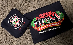 Limited Edition FDNY Dominican Republic Short Sleeve Shirts